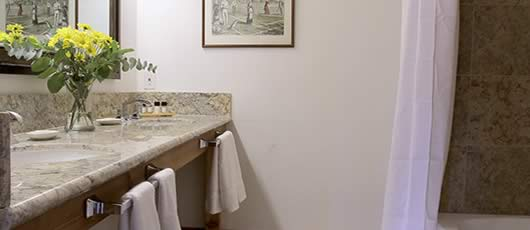 French Open bathroom