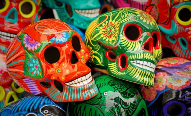 Murphys California event, Day of the Dead sugar skulls
