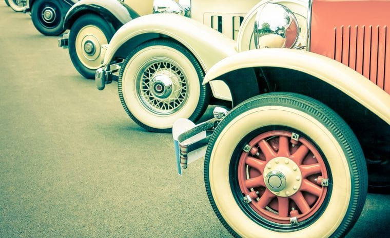 Classic Cars at the Ironstone Car Show