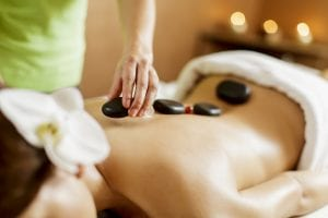 Hot stone massages are just one service offered at one of the spas in Murphys, CA.