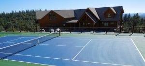 Courtwood Inn Tennis Court