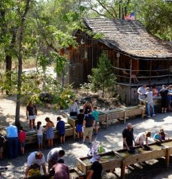 Historic tours are one of the many things to do in Columbia, CA