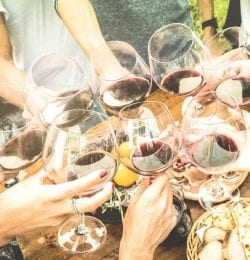 Wine tasting is just one thing you can do on Main Street in Murphys, CA.