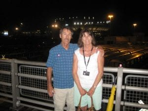 Chris and Larry at the US Open